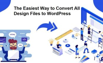 convert design giles to wordpress